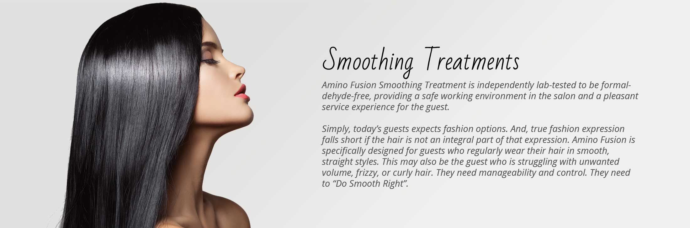 smoothing treatments